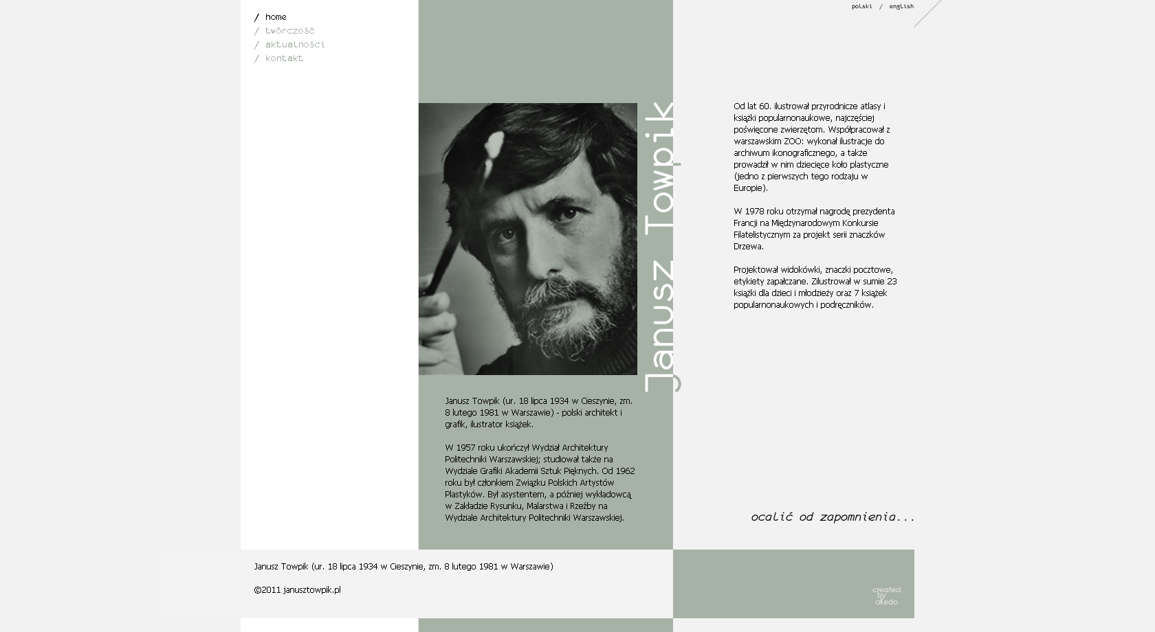 Strona www + CMS - Janusz Towpik 1